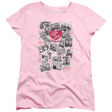 Womens: I Love Lucy- 65Th Years Of Memories T-Shirt