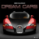 Dream Cars - 2018 Calendar Calendarios