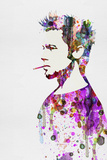 Fight Club Watercolor Print van Anna Malkin