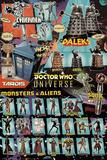 Doctor Who - Characters Kunstdrucke