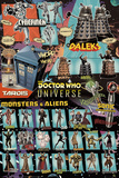 Doctor Who - Characters Prints