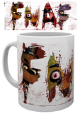 Five Nights at Freddy's - Letters Mug Tazza