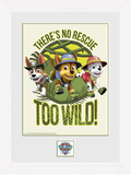 Paw Patrol - No Rescue too Wild Samletrykk