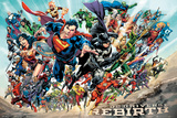 DC Universe - Rebirth Kunstdruck