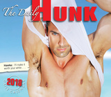The Daily Hunk - 2018 Boxed Calendar Calendriers