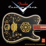 Fender Custom Shop  - 2018 Calendar Calendriers