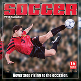 Soccer  - 2018 Calendar Calendars