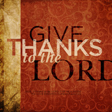 Give Thanks To The Lord Stampe di Dallas Drotz