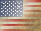 flag 3 Kunstdruck von  Americanflat-ky
