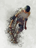 Skater Skateboard Affiches par  Wonderful Dream