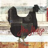 Hühnerhaus Poster von Brandi Fitzgerald