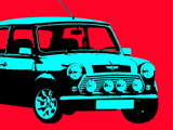 Mini Red Affischer av  Indigo Sage Design