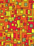 Square Pattern Design Reproduction procédé giclée par  Wonderful Dream