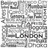 Cities Of The World Poster von Jan Weiss