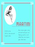 Cocktail Martini Julisteet tekijänä  Indigo Sage Design