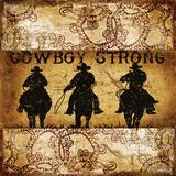Cowboy Strong 3 Posters af Marilu Windvand