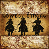 Cowboy Strong 3 Prints by Marilu Windvand