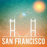 San Francisco Reproduction procédé giclée par  Wonderful Dream