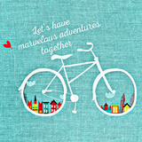 Adventure Bike Stampe di  Wonderful Dream