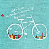 Adventure Bike Láminas por  Wonderful Dream