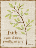 Faith Poster by Marilu Windvand