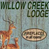 Willow Creek Lodge Plakater af Marilu Windvand