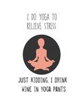 Yoga Plakater av Jan Weiss