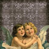 Faith Angel Love Reproduction procédé giclée par  Wonderful Dream