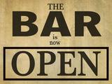 Bar Is Open Pósters por  Grafittee Studios