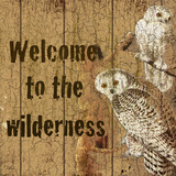 Welcome To The Wilderness Prints by Marilu Windvand
