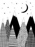 Mountain Poster by  Nanamia Design