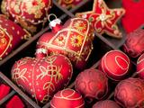 Red Christmas Stampe di  Grab My Art