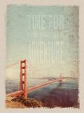 San Francisco antiguo Pósters por  Lebens Art