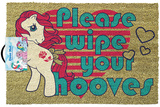 My Little Pony - Retro Please Wipe Your Hooves Door Mat Rariteter