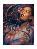 Billie Holiday: Lady Day Premium Giclee Print by  Shen