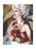 Marilyn: Perfume Premium Giclee Print by  Shen