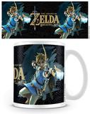 The Legend Of Zelda: Breath Of The Wild - Game Cover Mug Mug