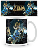 The Legend Of Zelda: Breath Of The Wild - Game Cover Mug Becher