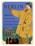 Berlin, Germany - International Film Festival - Germany Industry Plakat af Werner Wilhelm Buerger