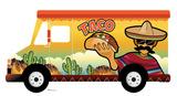 Taco Truck Standin Cardboard Cutouts