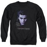 Crewneck Sweatshirt: Vampire Diaries- Stefan Every Sense At Super Speed Shirt