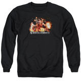 Crewneck Sweatshirt: Mortal Kombat X- Scorpio Flame Attack T-shirts