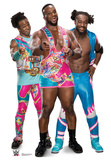 New Day - Big E, Kofi and Xavier - WWE Cardboard Cutouts