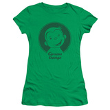 Juniors: Curious George- Classic Wink T-shirts