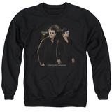 Crewneck Sweatshirt: Vampire Diaries- Damon & Stefan Walkalong T-Shirt