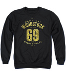 Crewneck Sweatshirt: Woodstock- White Lake T-shirts
