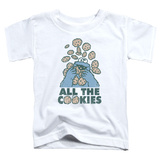 Toddler: Sesame Street- All The Cookies T-Shirt