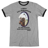 Parks & Recreation- Lil' Sebastian Ringer T-shirts