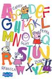 Peppa Pig - Alphabet Stampe