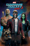 Guardians Of The Galaxy Vol. 2 - Characters In Space Posters
